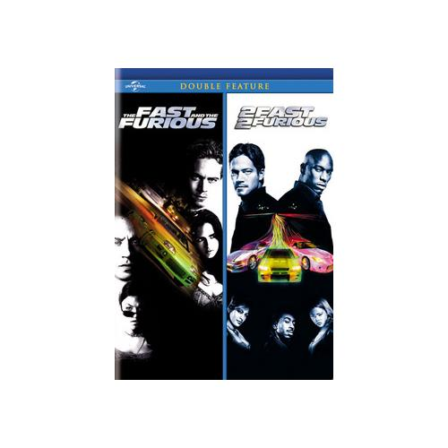 FAST & FURIOUS/2 FAST 2 FURIOUS (DVD/DOUBLE FEATURES) 25192162800