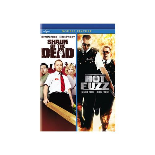 SHAUN OF THE DEAD/HOT FUZZ 2PK (DVD/DOUBLE FEATURE/2DISCS) 25192193439