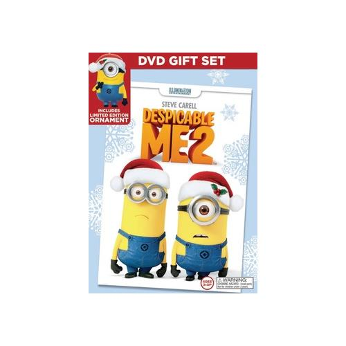 DESPICABLE ME 2 (DVD) (LIMITED EDITION HOLIDAY GIFT SET) 25192249174