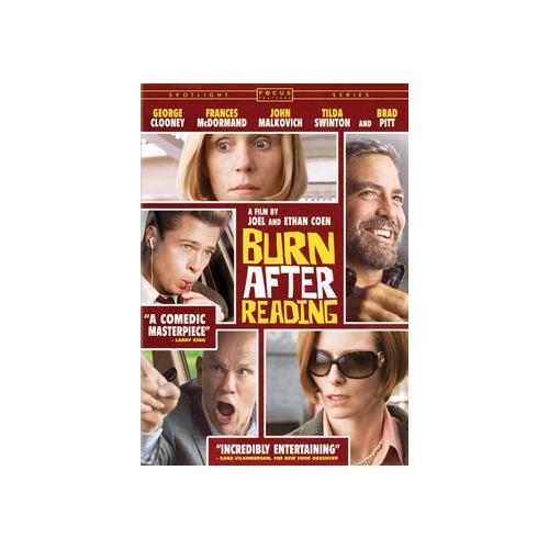 BURN AFTER READING (DVD) (ENG SDH/SPAN/FREN/DOL DIG 5.1) 25195016490
