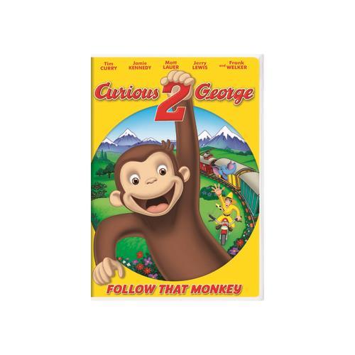 CURIOUS GEORGE 2-FOLLOW THAT MONKEY (DVD) (ENG SDH/SPAN/FREN/DOL DIG 5.1) 25195048736