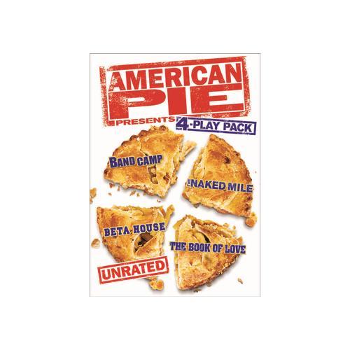 AMERICAN PIE PRESENTS 4 PLAY PACK (DVD/4DISCS/UR) 25192139802