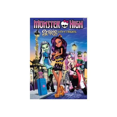 MONSTER HIGH-SCARIS CITY OF FRIGHTS (DVD) 25192189678