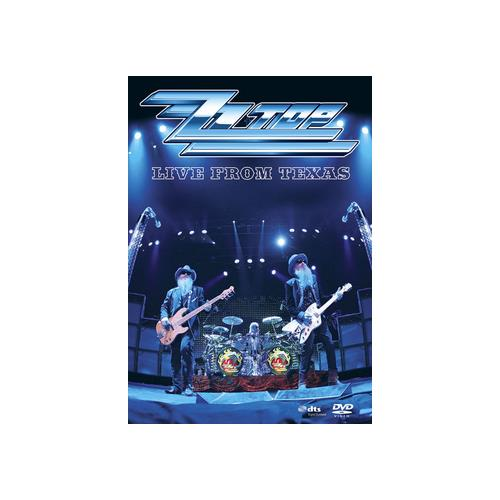 ZZ TOP-LIVE FROM TEXAS (DVD) 801213025299