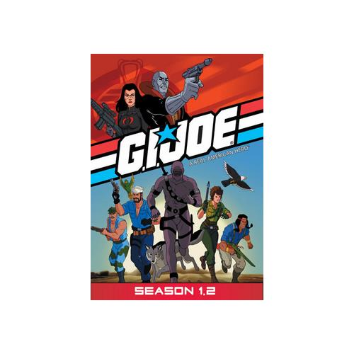 GI JOE REAL AMERICAN HERO-SEASON 1-PART 2 (DVD/4 DISC) 826663114430