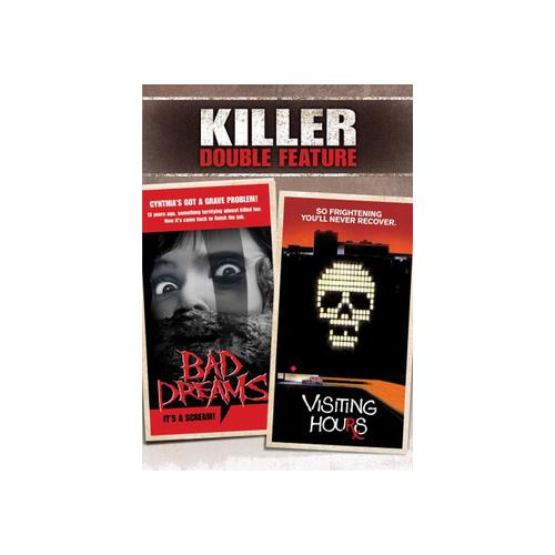 BAD DREAMS/VISITING HOURS (DVD) (KILLER DOUBLE FEATURE) 826663127430