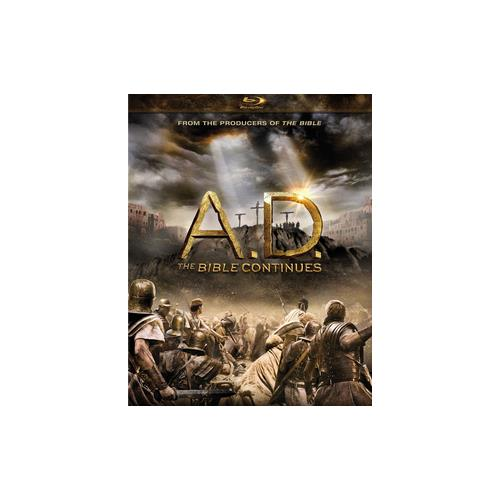 A.D.-BIBLE CONTINUES (BLU-RAY/4 DISC) 883904332169