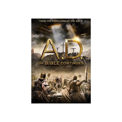 A.D.-BIBLE CONTINUES (DVD/4 DISC) 883904332145