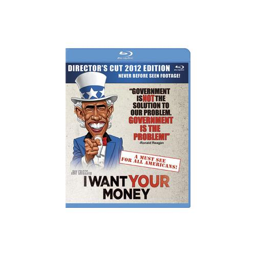 I WANT YOUR MONEY (BLU-RAY) 800828317898
