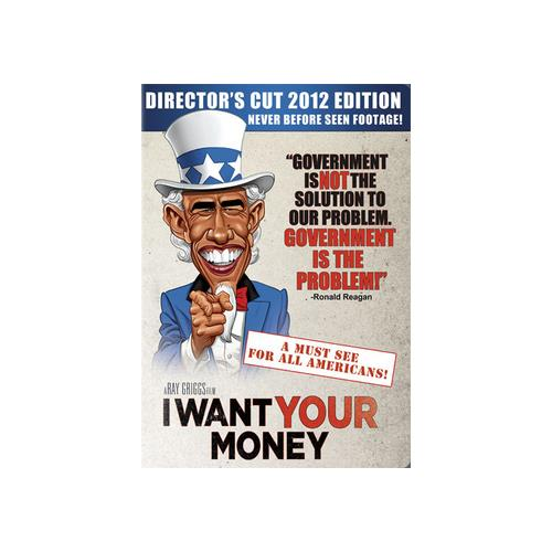 I WANT YOUR MONEY (DVD) 800828317799