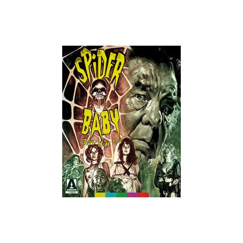 SPIDER BABY (BLU-RAY/DVD) 760137736691