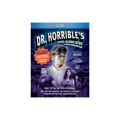 DR HORRIBLES SING-ALONG BLOG (BLU-RAY) 767685212134
