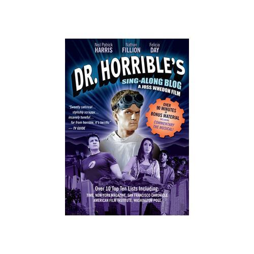 DR HORRIBLES SING-ALONG BLOG (DVD) 767685159323
