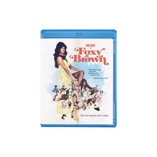 FOXY BROWN (BLU-RAY/1974) 887090100809