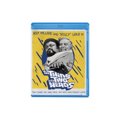 THING WITH TWO HEADS (BLU-RAY/GRIER/MILLAND/1972) 887090102407