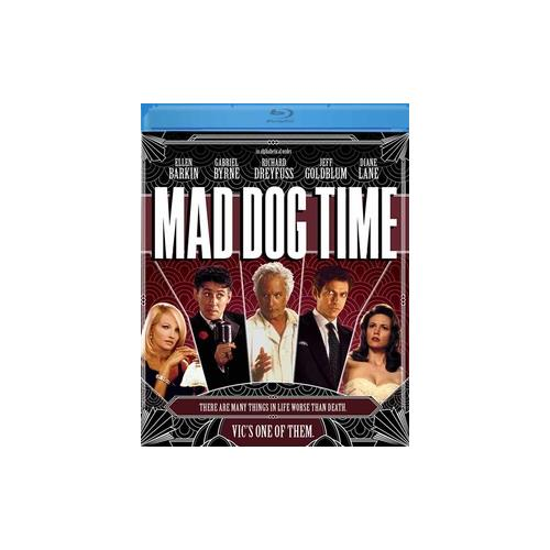 MAD DOG TIME (BLU-RAY/DREYFUSS/GOLDBLUM/1996) 887090107907