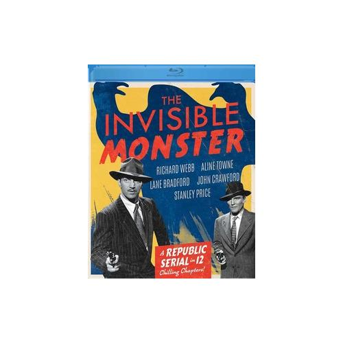 INVISIBLE MONSTER (BLU-RAY/FS/1950) 887090109406