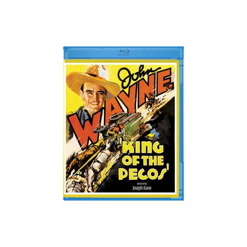 KING OF THE PECOS (BLU-RAY/1936/B&W) 887090052207