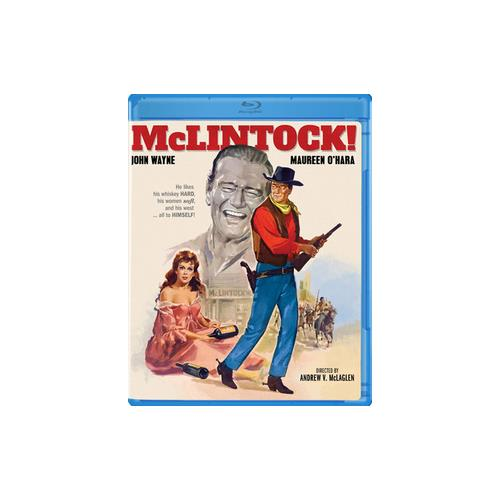 MCLINTOCK (1963) (BLU RAY) 887090057806