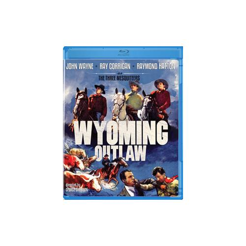 WYOMING OUTLAW (1939) (BLU RAY) (B&W/1.37:1) 887090058605