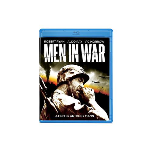 MEN IN WAR (BLU RAY) (B&W/1957/16X9/1.78:1) 887090075008
