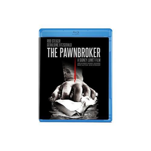PAWNBROKER (BLU RAY) (B&W/1964/16X9/1.85:1/WS) 887090076401