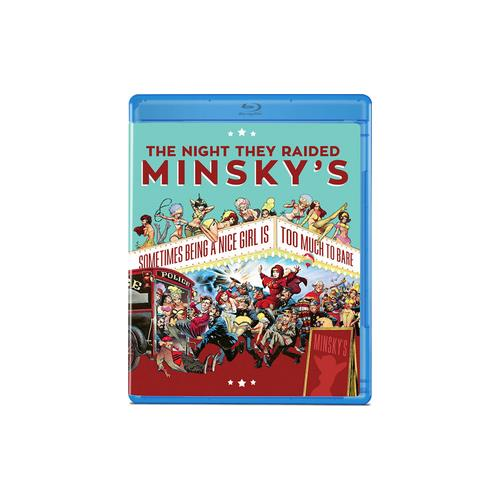 NIGHT THEY RAIDED MINSKYS (BLU RAY) 887090091602