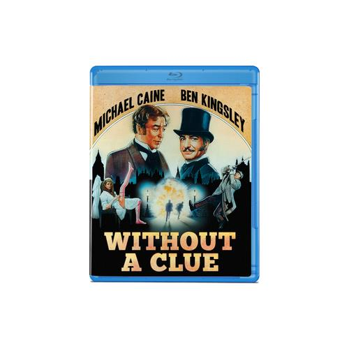 WITHOUT A CLUE (BLU-RAY/KINGSLEY/CAINE/1988) 887090094801
