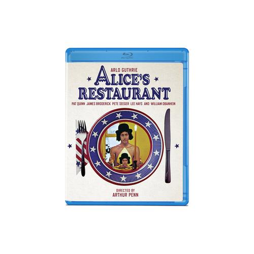 ALICES RESTAURANT (BLU-RAY/A GUTHRIE/J BRODERICK/1969) 887090095006