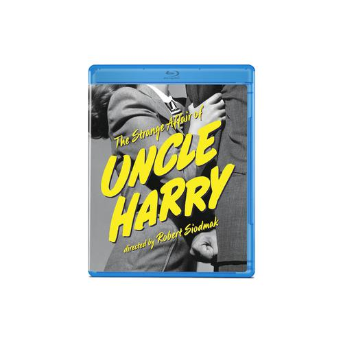 STRANGE AFFAIR OF UNCLE HARRY (BLU RAY) (1.37:1/B&W) 887090096201