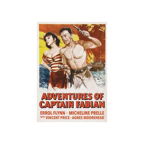 ADVENTURES OF CAPTAIN FABIAN (DVD/1951) 887090103909