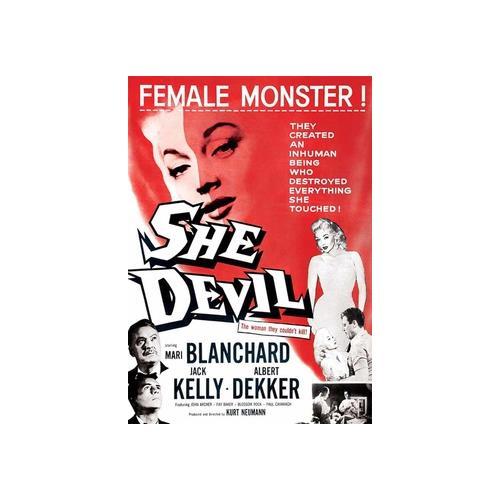 SHE DEVIL (DVD) (1957/WS) 887090055505