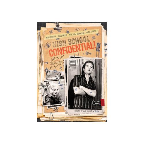 HIGH SCHOOL CONFIDENTIAL (DVD) 887090079709