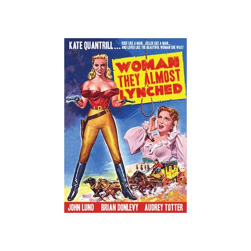 WOMAN THEY ALMOST LYNCHED (DVD) (1.37:1/B&W) 887090095501