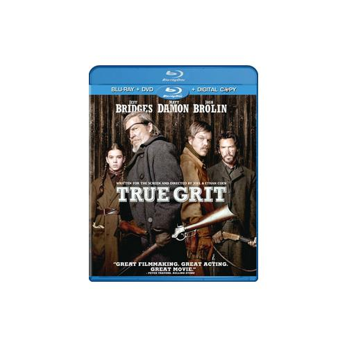 TRUE GRIT (2010) (BLU RAY/DVD COMBO W/DIGITAL COPY) (WS/ENG 5.1 DTS-HD) 97360110449