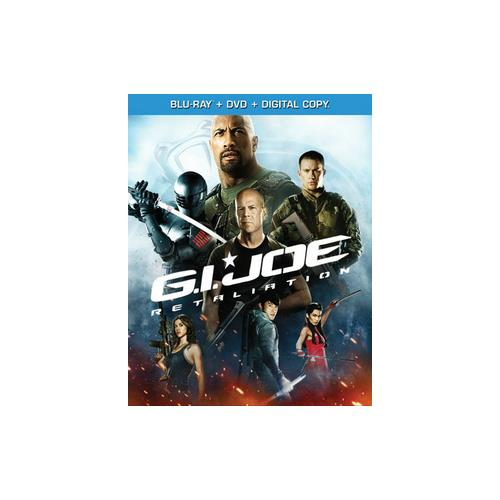 GI JOE-RETALIATION BLU RAY/DVD COMBO W/DIGITAL COPY 97361474847