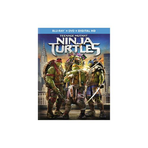 TEENAGE MUTANT NINJA TURTLES (2-DISC COMBO/BLU-RAY/DVD/DIGITAL HD) 32429204905