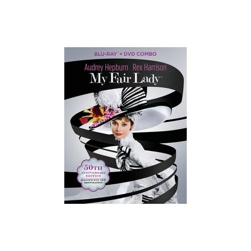 MY FAIR LADY 50TH ANNIVERSARY EDITION (BLU-RAY/DVD/3 DISCS) 32429153944