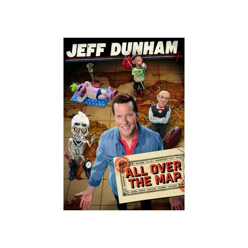 JEFF DUNHAM-ALL OVER THE MAP (DVD) (WS/5.1 DOL DIG) 32429209337