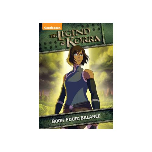 LEGEND OF KORRA-BOOK FOUR-BALANCE (DVD) (2DISCS) 32429212825