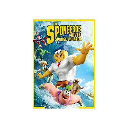 SPONGEBOB MOVIE-SPONGE OUT OF WATER (DVD) 32429217295
