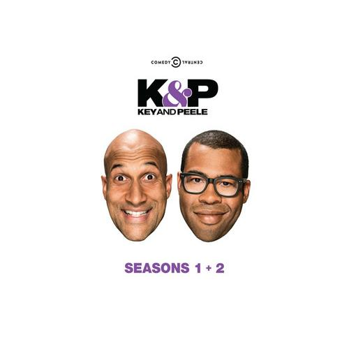 KEY & PEELE-SEASONS ONE & TWO (DVD/4 DISCS) 32429149886
