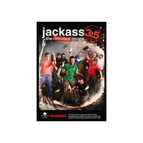 JACKASS 3.5-MOVIE (DVD/UR/ENG 5.1 DD/WS) 97368214842