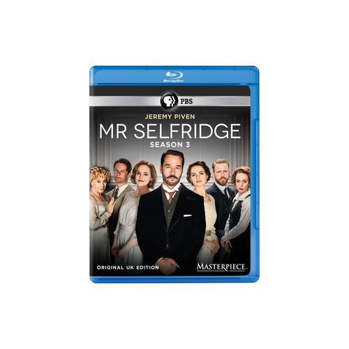MR SELFRIDGE-SEASON 3 (BLU-RAY/3 DISC/MASTERPIECE COLLECTION) 841887024013