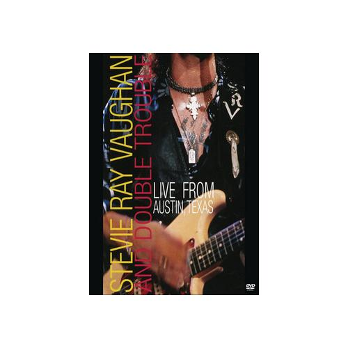 VAUGHAN STEVIE RAY & DOUBLE TROUBLE-LIVE FROM AUSTIN TEXAS (DVD) 886978098795