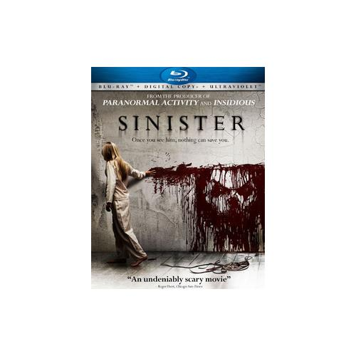 SINISTER (BLU RAY) (WS/ENG 5.1 DOL/2.35:1) 25192175466
