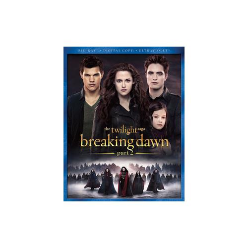 BREAKING DAWN PART 2 (BLU RAY W/DIGITAL COPY/ULTRAVIOLET) 25192177415