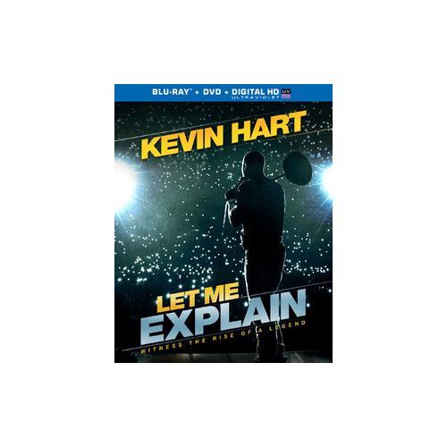 KEVIN HART-LET ME EXPLAIN BLU RAY/DVD COMBO 25192206733