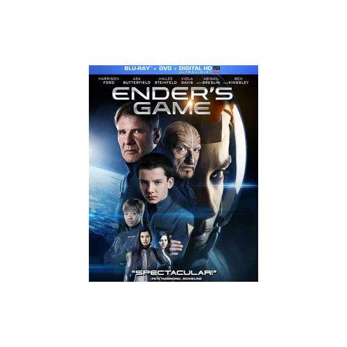 ENDERS GAME  (BLU RAY/DVD W/DIGITAL HD ULTRAVIOLET) 25192217067