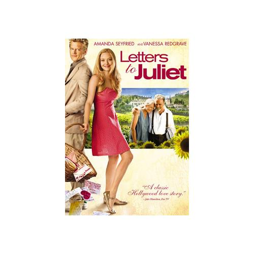 LETTERS TO JULIET (DVD) (WS/ENG SDH/ENG 5.1 DOL) 25192067488